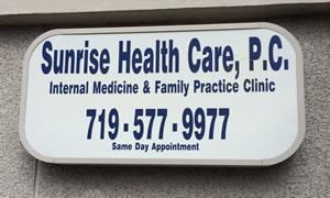 sunrise health care colorado springs